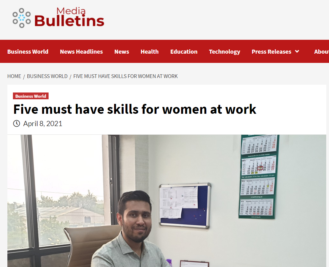 Five must-have skills for women at work
